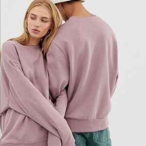 Collusion Dusky Pink Sweatshirt